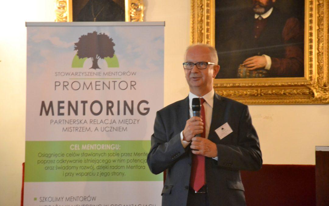 Wypowiedź prezesa Stowarzyszenia Tomasza Wańskiego – jak przebiegała Iedycja konferencji omentoringu